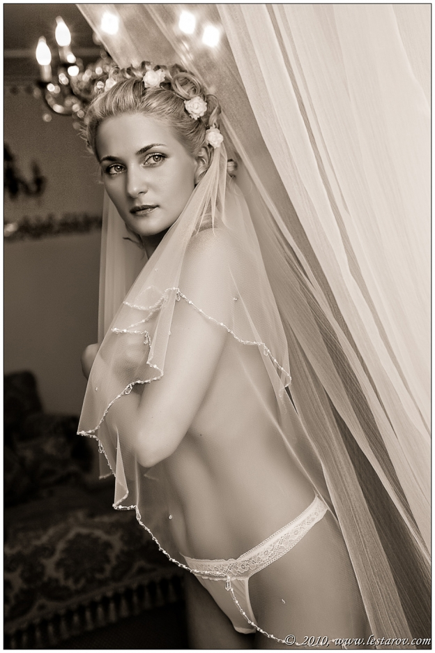 свадебные фото ню