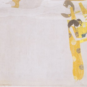 Beethoven Frieze, 4 Right Side Wall - Neck, 1902 Klimt